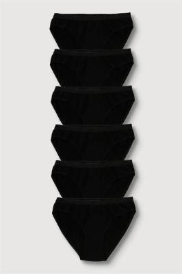 Tutku 6'lı Paket Kadın %100 Pamuk Bikini Külot