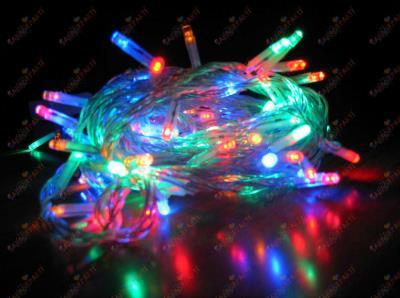 Yılbaşı Led Işık Karışık Renk 10 Metre 100 Led