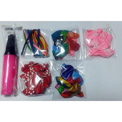 Balon Pompası ve 50 Balon - Kız Doğum Günü