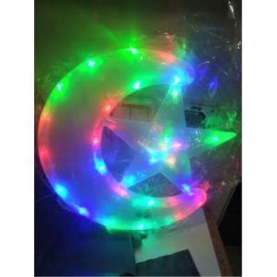 Dev AY Yıldız Rgb Elektrikli Led Işık