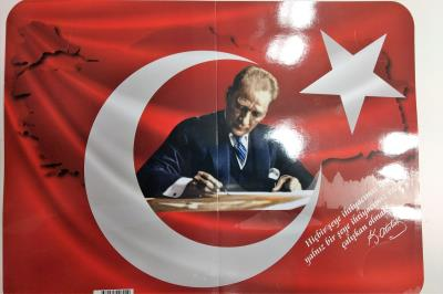 Atatürk Bayraklı Karne Kılıfı 20 Adet