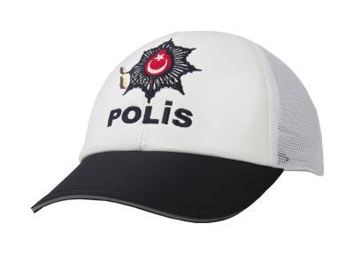 POLİS MEMURU ŞAPKASI - TRAFİK - YAZLIK