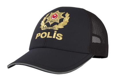 POLİS MÜDÜRÜ ŞAPKASI - GENEL HİZMET - YAZLIK