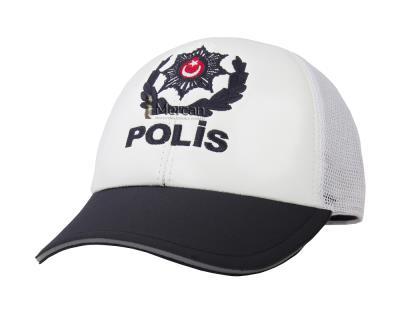 POLİS AMİRİ ŞAPKASI - TRAFİK - YAZLIK