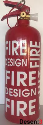 EN İlginç Hediye Desenli 1 Kg Yangın Tüpü ABC Tozlu 4 Yıl Garant
