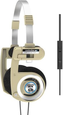 Koss Porta Pro Limited Edition Rhythm Beige On-Ear Headphones, in