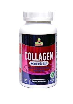 Mefa Naturals Collagen ve Hyaluronic Asit 100 Kapsül