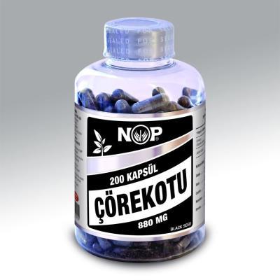 Nop Çörekotu 750 mg 200 kapsül