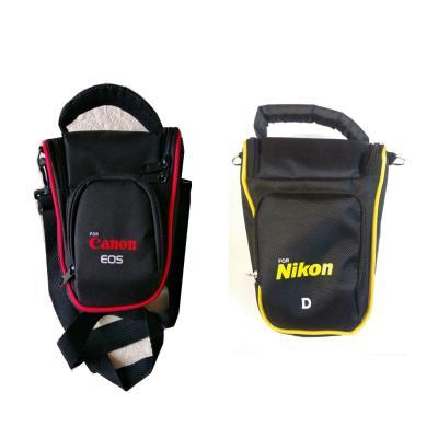 Canon Nikon Üçgen Çanta + 600D 650D 700D 1200D 1300D 200D VS