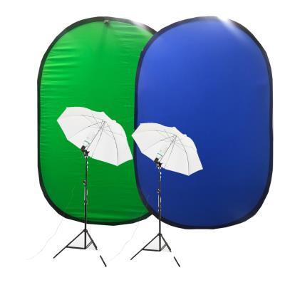 Youtuber Kit Katlanabilir Chromakey Green Fon Umberlla Soft 84cm