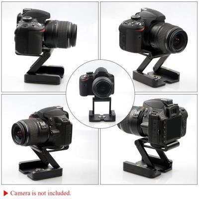 Tripod için Z Plate Pan & Tilt Flex Head Z Kafa Kamera Standı