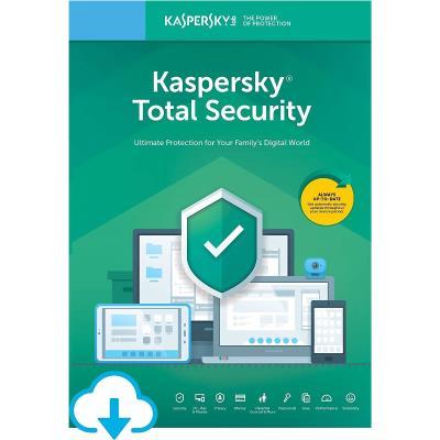 Kaspersky Total Security  2020 1 Bilgisayar 1 Yıl  ( Windows )