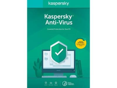 Kaspersky Anti Virus 2020 - 3 Bilgisayar 1 Yıl ( Windows )