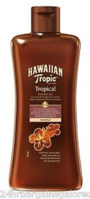 Hawaiian Tropic Bronzlaştırıcı Güneş Yağı Coconut 200 ml