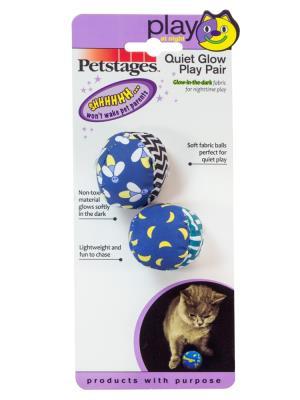 Petstages Quite Glow reflektörlü sessiz kedi gece oyuncağı