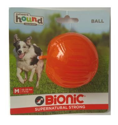 Hound Bionic Dayanıklı Parçalanmaz Isırma Topu Köpek Oyuncağı -