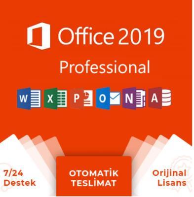 Microsoft Office 2019 Pro Plus (Hızlı Teslimat)