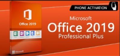 Microsoft Office 2019 Professional Plus - Phone Activation