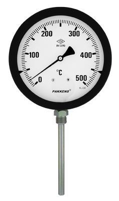 MONEKS Q100 120° Termometre Alttan Çıkışlı 10 cm