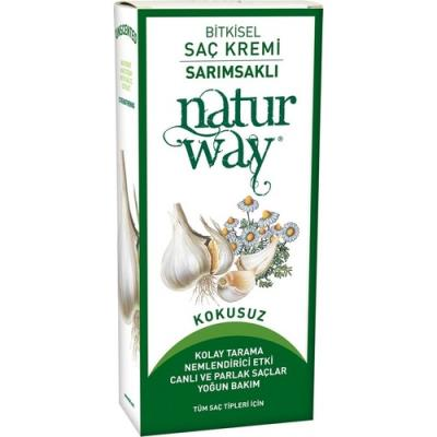 Otacı Naturway Bitkisel Saç Kremi Sarımsaklı