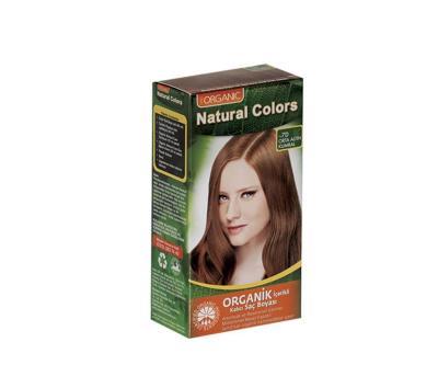 Natural Colors 7D Orta Altın Kumral Organik Saç Boyası
