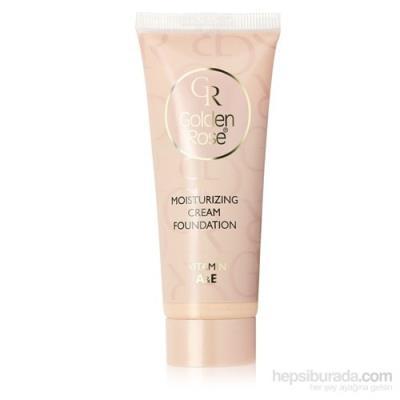 Golden Rose Mousturizing Cream Foundation - Fondöten - 09