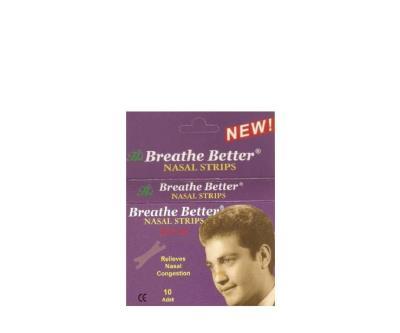 Breathe Better Nasal Strips Burun Bandı 10 Adet