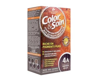 Color and Soin Saç Boyası 4A Marron Glace