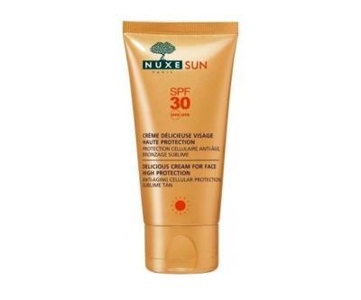 Nuxe Sun - Creme Delicieuse Visage Haute Protection Spf30 50Ml -