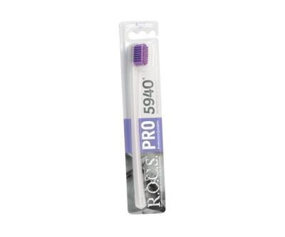 Rocs Pro 5940 Soft Diş Fırçası Lila