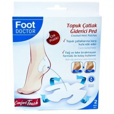Foot Doctor Ayak Koruyucu Topuk Çatlak Flasteri