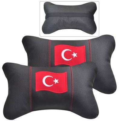 araç iç boyun yastığı türk bayraklı