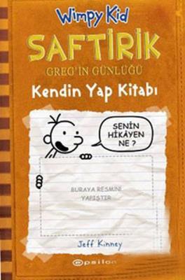 Saftirik Kendin Yap Kitabı - Wimpy Kid