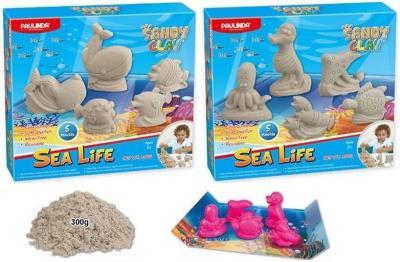 Logon Kinetik Kum 300 Gr 5 Kalıp Deniz Hayvanları