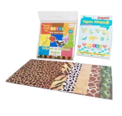 Elif Origami Kağıdı paketli