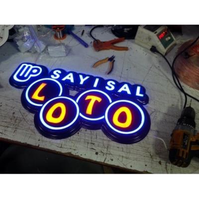 Sayısal Loto Led Tabela - Hazır Sayısal Loto Tabelası
