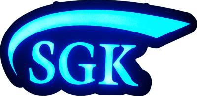 SGK Led Işıklı Tabela