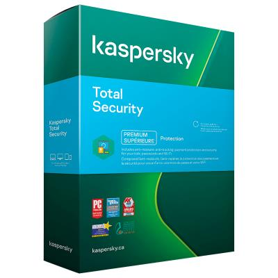 Kaspersky Total Security (Antivirüs) 2021 1 YIL / 1 PC