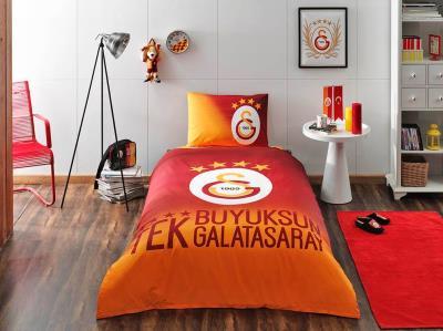 Taç Lisanslı Galatasaray 4.Yıldız Nevresim Takımı