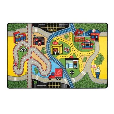 Confetti Race Çocuk Odası Oyun Halısı 133x190 cm