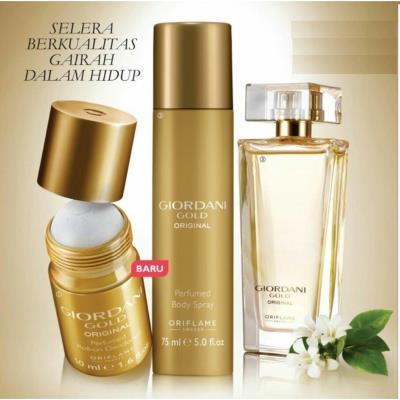 Oriflame Giordani Gold Original EdP Bayan Parfümü Seti