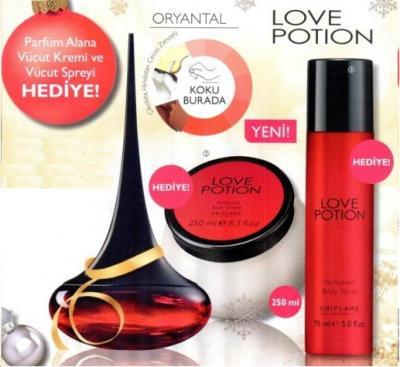 Oriflame LOVE Potion EDP Bayan Parfüm Seti