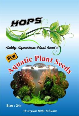 HOPS Aquatic Plant Seeds Akvaryum Bitkisi 20 Farklı Çeşit 24+Adet