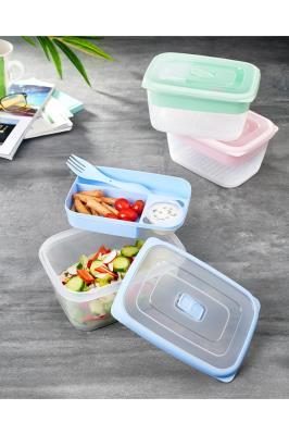 Ecosaver Lunchbox Beslenme Kutusu-bölmeli Saklama Kabı