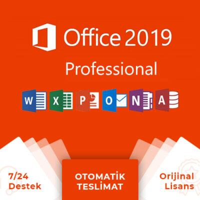 Office 2019 Pro Plus Lisans Anahtarı + Online Hemen Teslim