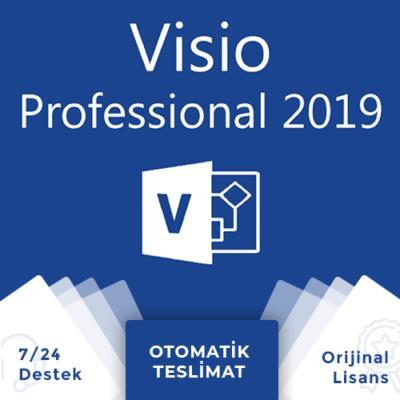 Office Visio 2019 Pro Lisans Anahtarı + Online Hemen Teslim