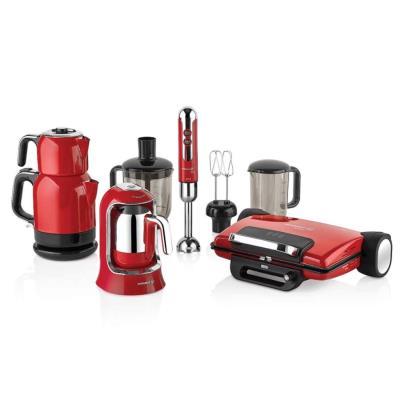 Korkmaz A1815 Elektro Set Kahve, Çay, Tost Makinesi ve Blender