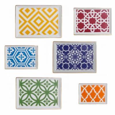 Porland Morocco 6 Lı Set 18 Cm Kahvaltı Tabağı Seti