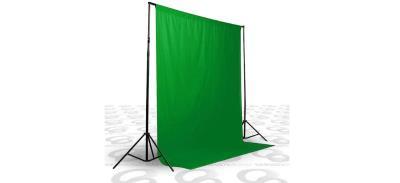 A+ KALİTE-green screen-CHROMAKEY-greenbox-yeşil fon perde(3x4m)