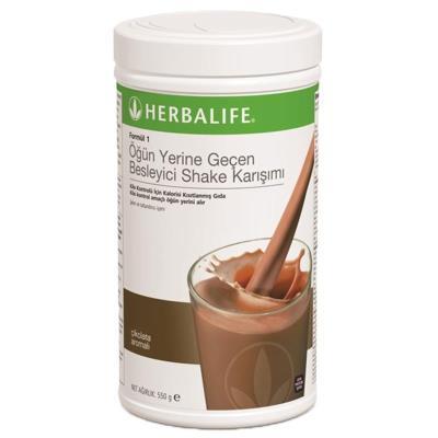 Herbalife Formül 1 Besleyici Shake Karışımı (ÇİKOLATALI)